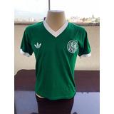 6432e4a452 Camisa Retro Palmeiras Adidas no Mercado Livre Brasil