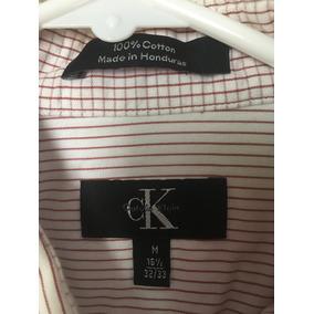 Camisa Calvin Klein A Rayas Moda Hombre Fashion Elegante