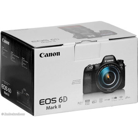 Camera Dslr Canon Eos 6d Mark Ii 2 (corpo) 1 Ano Gar Brasil.