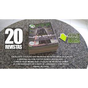 20 Revistas Xbox Editora Europa Revistas Raras E Conservadas