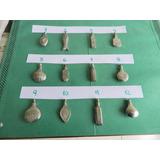 Antiguos Perfumeros- Bolsillo-cartera-colgante De Bronce