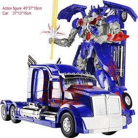 Transformers Optimus Prime Luxo 45cm Robô Pronta Entrega