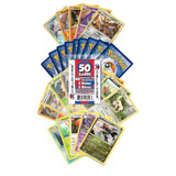Tarjetas De Pokemon 50tarjeta Surtido Lote
