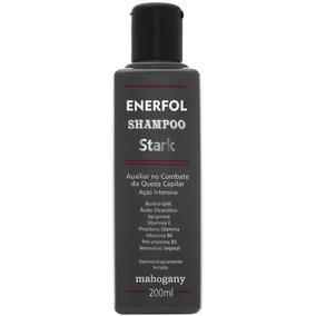 Mahogany Shampoo Anti Queda Enerfol Stark 200 Ml