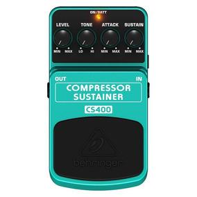 Pedal De Efeitos Para Guitarra Behringer Cs400 Compressor S
