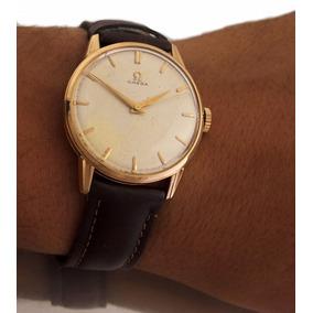 Relógio Omega Masculino Manual A Corda Em Ouro 18k J12588