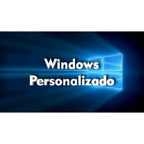 Windows Personalizado Com Programas A Sua Escolha E Logotipo