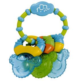 Mordedor Com Gel Cool Rings Multikids Baby Bb150 - Azul