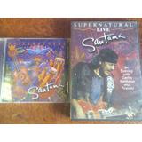 Santana - Supernatural Cd + Dvd Originales