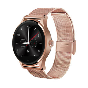 Excelvan K88h Podómetro Smart Watch Ritmo Cardíaco-rosa Oro