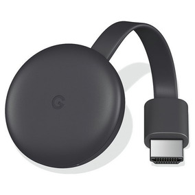 Novo Chromecast 3 Google Full Hd Wi-fi/hdmi Pronta Entrega