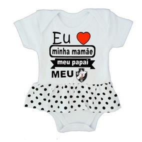 Body Vestido Vaco Da Gama Bebê Menina - Enxoval Bebê Menina 9404f2e92c0f4