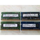 Memorias Ram 4 Gb, Ddr3 1600mhz Pc3l-12800s