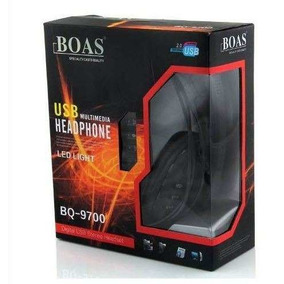 Headset Usb Pc E Ps3 Xbox Digital Stereo C Fio Boas Bq 9700