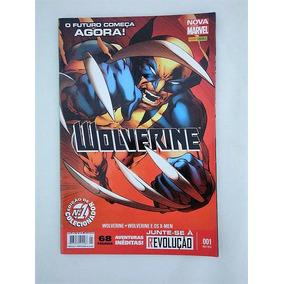 Hq Wolverine Nº 1 Edição De Colecionador Nova Marvel
