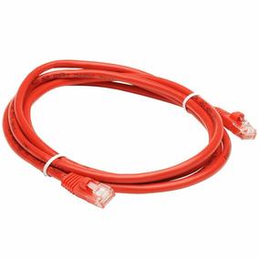 Patch Cord Qnet 2 Metros Color Rojo Cat6 Certificado