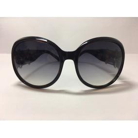 1293822716fc3 Óculos De Sol Feminino Redondo Detalhes Laterais- Via Lorran
