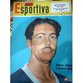 Manchete Esportiva Nº 03 Nelson Rodrigues Poster Dez 1955