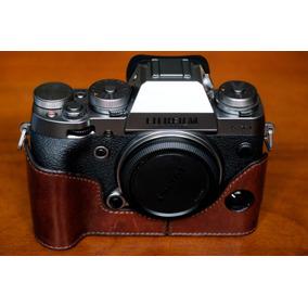Câmera Fujifilm X-t1 Silver Na Caixa + Case De Couro Gariz
