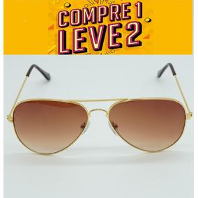 ba7444c8c117b Oculos Aviador Feminino Marrom Degrade - Óculos De Sol Com lente ...