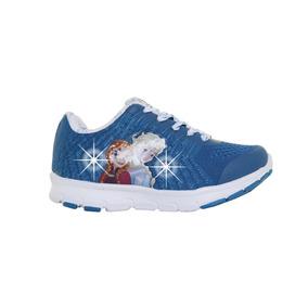 Zapatillas Addnice Flex Frozen Snow Cordon Niña Ae/bl