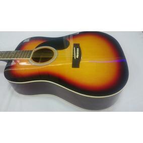 Guitarra Electroacústica + Estuche + Correa +clips