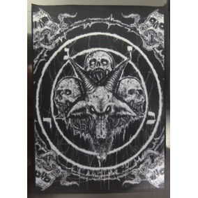 Backpatch Pentagrama Baphomet 40x28