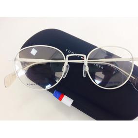 Óculos Redondo Tommy Hilfiger - Óculos no Mercado Livre Brasil 4c1f813106