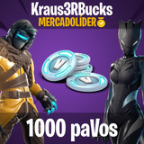 1000 Pavos Para Fortnite - Pase De Batalla - Pc/ps4/xbox