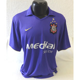 Camisa Corinthians 2008 Roxa - Nike Original Nº 10 Medial 306ed93ad55cf