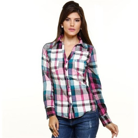 Camisa Xadrez Feminina Marisa - Calçados 7721de11c8a08