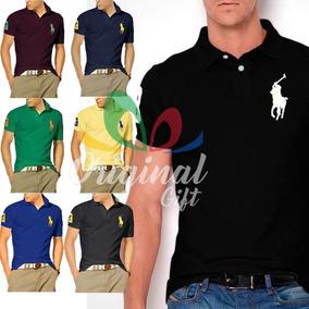 Kit 10 Camisas Gola Polo - Pólos Manga Curta Masculinas no Mercado ... a03bfdceace68