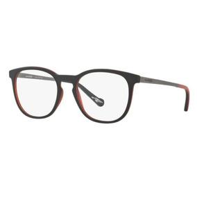 a9df37406fae8 Armação Oculos Grau Arnette An7129l 2444 Preto Fosco Vermelh