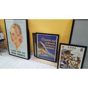 Antiguo Afiche Peronista Muy Raro- Consolide La Pujanza