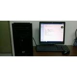 Computador Core 2 Duo Con Tarjeta De Video De 1gb