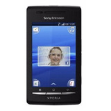 Sony Xperia X8 E15a Single 3g 3.2mp Preto Vitrine 1