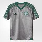 Camisa Palmeiras adidas Prata 2016