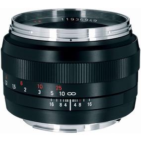 Lente Zeiss Planar T  50mm F 1.4 Ze - Foco Manual Canon Ef. R  5.150 0dc41f0388
