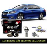 Birlos Seguridad Nissan Sentra Advance Galaxylock