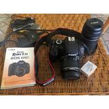 Canon Eos Rebel T3i Digital Y Accesorios