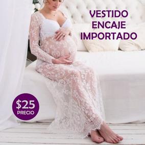 2ae0eb659 Vestido De Fiesta Para Embarazada Maternidad - Ropa - Mercado Libre ...