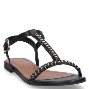 Sandalia Casual Mingo Mujer Negro - S547