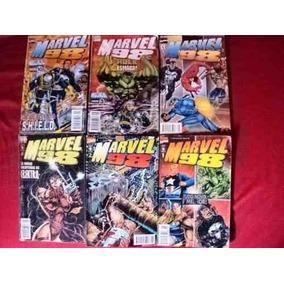 Lote Gibis - Marvel 98: N° 2, 7, 8 E 10