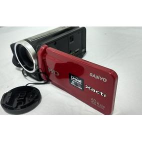 Camera Filmadora Sanyo Vpc-zh1 Camcorder - Red