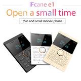 Ifcane E1 Quadrângulo Banda Desbloqueado Mini Cartão Telefon