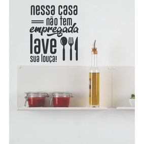 Frases De Sujou Lavou Para Cozinha Casa Móveis E Decoração No