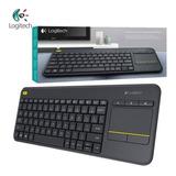 Teclado Touch Pad Inalambrico Logitech K400 2.4ghz Tv Cuotas