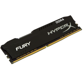 Memoria Pc Hyperx Fury Ddr4 8gb 2400 Mhz Cl 15 No Ecc Nne Hx