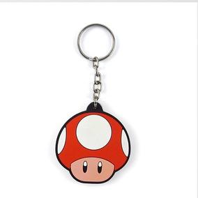 Chaveiro Cute Super Mario - Mushroom Vermelho