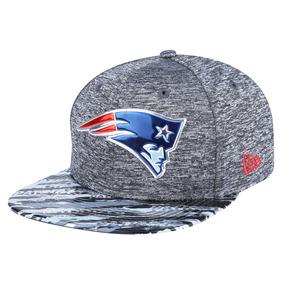 Boné New Era 950 Kickoff Print New England Patriots Chumbo e795d266830